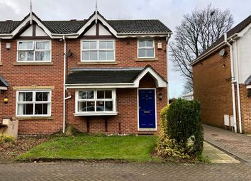 Thumbnail 3 bed semi-detached house to rent in Wimbledon Drive, Rochdale