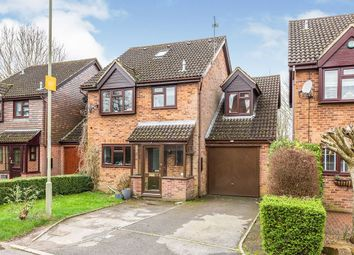 Thumbnail 5 bed detached house for sale in Loveridge Close, Andover