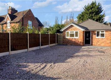 Thumbnail 2 bed detached bungalow for sale in Spetchley Road, Worcester