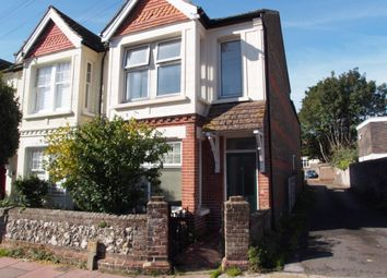 Thumbnail 3 bedroom flat to rent in Eriswell Road, Worthing