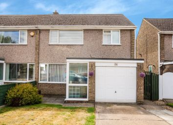 Thumbnail 3 bed semi-detached house for sale in The Mead, Lincoln