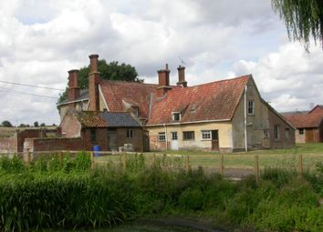 Thumbnail 6 bed farmhouse for sale in Valley Farm House, Valley Farm Lane, Great Finborough, Suffolk