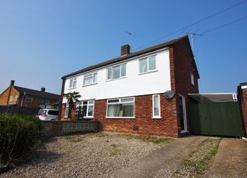 Thumbnail 3 bed semi-detached house for sale in Bellrope Lane, Wymondham, Norfolk