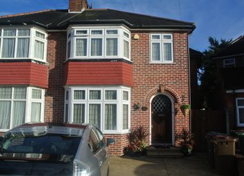 Thumbnail 4 bed semi-detached house for sale in Gyles Park, Stanmore