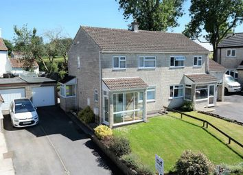 Thumbnail 3 bed semi-detached house for sale in Hoecroft Gardens, Chilcompton, Radstock