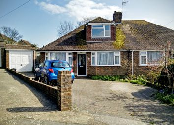 Thumbnail 4 bed semi-detached house to rent in Meadow Close, Rottingdean