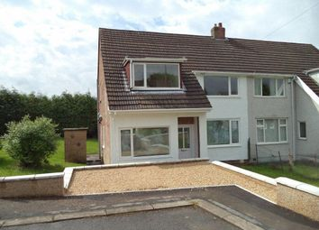 Thumbnail 3 bed semi-detached house to rent in Glanrhyd Close, Scwrfa, Tredegar