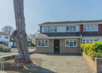 Thumbnail 3 bed end terrace house for sale in Lampits, Hoddesdon, Hertfordshire