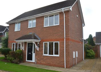 Thumbnail 3 bed detached house to rent in Bristow Road, Cranwell Village, Sleaford