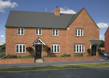 "Thumbnail 3 bed semi-detached house for sale in ""Hadley"" at Halse Road, Brackley"