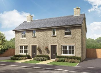 "Thumbnail 2 bedroom end terrace house for sale in ""Amber"" at New Road, Tintwistle, Glossop"