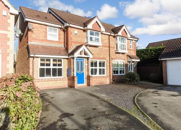 Thumbnail 3 bed semi-detached house for sale in Belfry Close, Euxton, Chorley