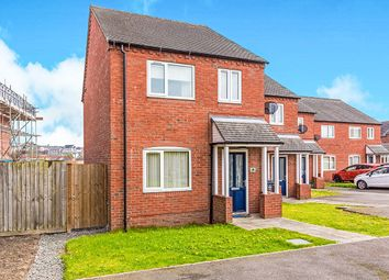 Thumbnail 3 bed semi-detached house for sale in Colliers Close, Newhall, Swadlincote