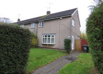 Thumbnail 3 bed end terrace house to rent in Greswold Close, Tile Hill, Coventry