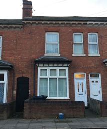 Thumbnail 4 bed terraced house for sale in Freer Road, Aston, Birmingham