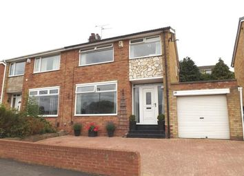 Thumbnail 3 bed semi-detached house for sale in Seymour Crescent, Eaglescliffe, Stockton-On-Tees, Durham