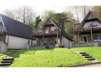 Thumbnail 3 bed lodge for sale in Honicombe Holiday Park, Callington