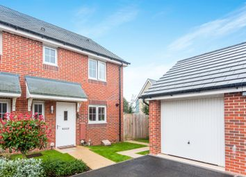 Thumbnail 3 bed semi-detached house for sale in Brewer Avenue, Axminster
