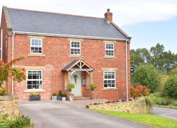 Thumbnail 5 bed detached house for sale in Renton Close, Bishop Monkton, Harrogate
