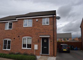 Thumbnail 3 bed semi-detached house for sale in Kelburn Road, Orton Northgate, Peterborough