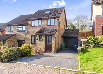 Thumbnail 3 bed semi-detached house for sale in Nant Y Drope, Michaelston-Super-Ely, Cardiff