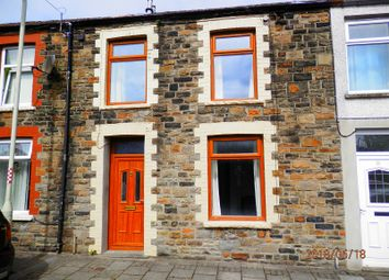 Thumbnail 3 bed terraced house for sale in Edmund Street, Porth, Rhondda, Cynon, Taff.