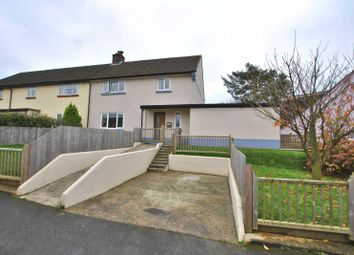 Thumbnail 3 bed semi-detached house for sale in Claremont Place, Hatherleigh, Okehampton