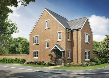 "Thumbnail 4 bed detached house for sale in ""The Lumley Corner"" at Cross Lane, Sacriston, Durham"