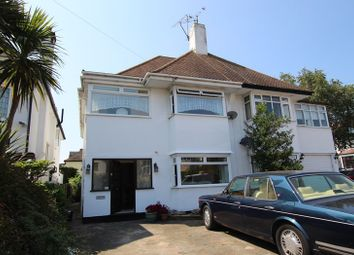 Thumbnail 4 bed semi-detached house for sale in Crowstone Avenue, Westcliff-On-Sea