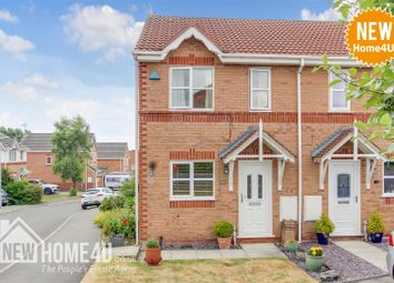 Thumbnail 2 bed semi-detached house for sale in Forest Walk, Buckley
