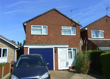 Thumbnail 3 bedroom detached house for sale in Lambourn Drive, Allestree, Derby