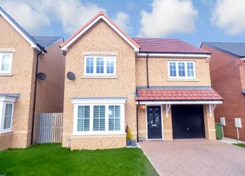 Thumbnail 4 bed detached house for sale in Daisy Close, Blyth