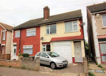 Thumbnail 3 bed semi-detached house for sale in Warwick Road, Clacton-On-Sea, Clacton On Sea