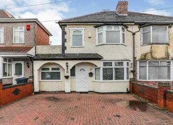Thumbnail 4 bed semi-detached house for sale in Mickleover Road, Ward End, Birmingham, West Midlands