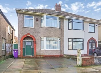 Thumbnail 3 bed semi-detached house for sale in Bull Lane, Liverpool