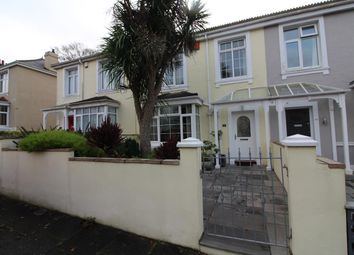 Thumbnail 3 bed terraced house for sale in Glenavon Road, Mannamead, Plymouth