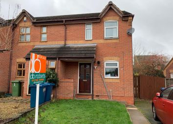 Thumbnail 2 bed semi-detached house for sale in Chetney Close, Stafford