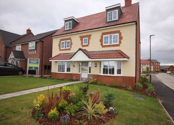 Thumbnail 5 bed detached house for sale in The Warwick Marsh Lane, Nantwich