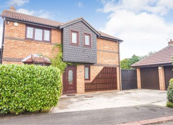 Thumbnail 4 bed detached house for sale in Newland Close, Widnes