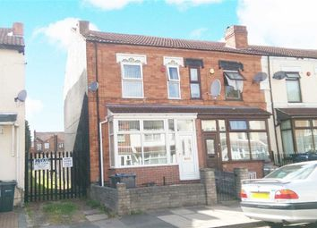 Thumbnail 3 bed end terrace house for sale in St. Agathas Road, Saltley, Birmingham