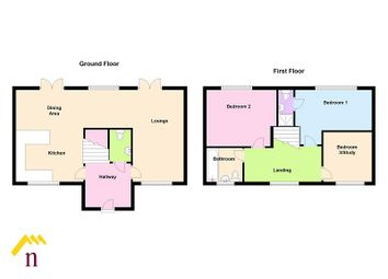 Thumbnail 3 bed town house for sale in The Moorings, Off Of White Lane, Thorne