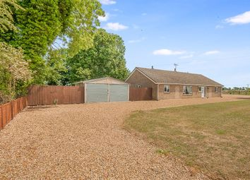 Thumbnail 5 bed detached bungalow for sale in New Cut, Thorney, Peterborough
