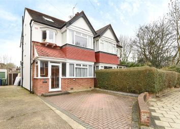 Thumbnail 5 bed semi-detached house for sale in Newlyn Gardens, Harrow, Middlesex