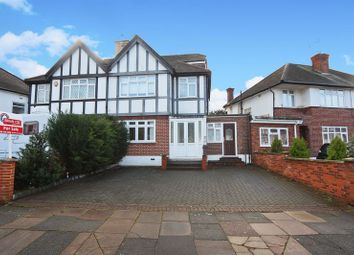 Thumbnail 4 bedroom semi-detached house to rent in Chinnor Crescent, Greenford
