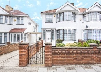 Thumbnail 3 bed semi-detached house for sale in Kenton Road, Harrow, Middlesex