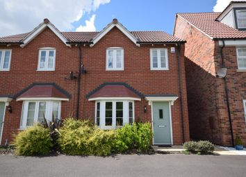 Thumbnail 3 bed semi-detached house for sale in Queensbury Park Drive, Shelton Lock, Derby