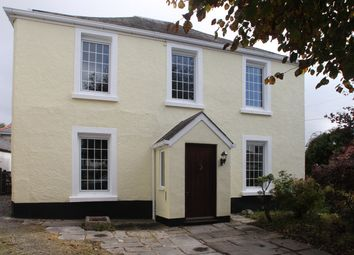 Thumbnail 4 bed detached house to rent in Harrowbarrow, Nr Callington