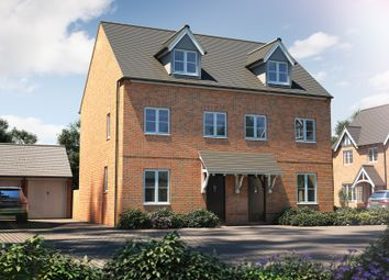 "Thumbnail 3 bed semi-detached house for sale in ""The Chastleton"" at Banbury Road, Southam"