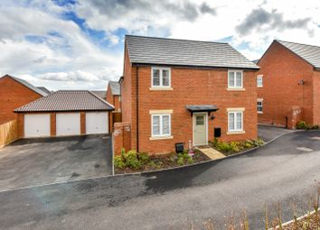 Thumbnail 4 bed detached house for sale in Harvest Road, Market Harborough, Leicestershire