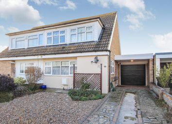 Thumbnail 3 bed property for sale in Harrison Gardens, Hullbridge, Hockley